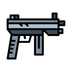 See more icon inspiration related to gun, launcher, fire, explosion, weapons and rocket on Flaticon.