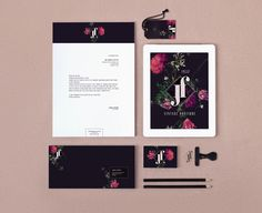 JF BOUTIQUE | Brand Identity on Behance #branding