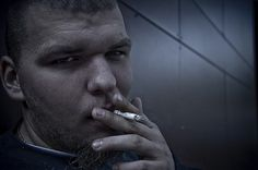 David Smoking - JPG Photos #photo #male #photography #portrait #smoking #guy