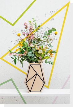Graphic Vase I - prings.be