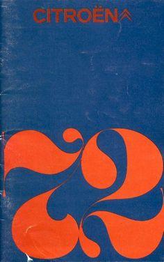 1972 Citroen brochure #brochure #1970s
