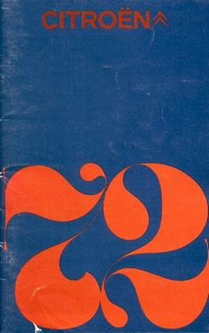 1972 Citroen brochure