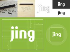 Jing Custom Type Logo: Case Study