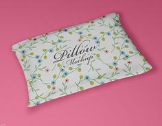 Free PSD Pillow Mockup For Presentation