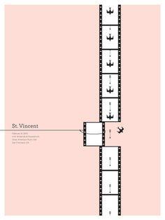 GigPosters.com   St. Vincent   Wildbirds