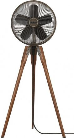 The Arden tripod fan | Doobybrain.com #fan #apartment #wishlist #tripod