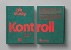 Kontroll Book by Snask