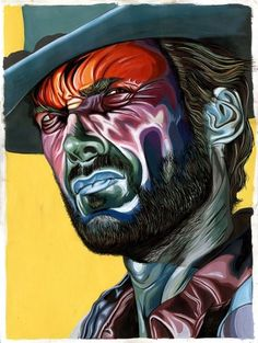 Yay Hooray | Make Something Cool Everyday #eastwood #colors #painting #clint #ugly #good #bad