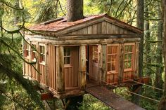 Treehouses of Treehouse Point - Temple of the Blue Moon #treehouse