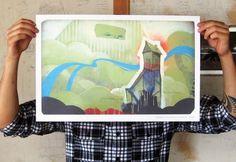 ERIK OTTO STUDIOS #otto #paint #painting #erik #giclee #spray