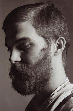 "FFFFOUND! | Editorial - ""Dash"" | The Fashionisto #handsome #white #beard #black #and"