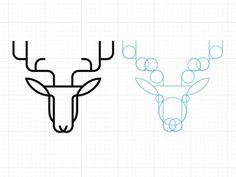 Antler Logo by Will Howe #logo design #identity #brand #guideline