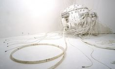 Colossal #sculpture #white #installation #odani #motohiko #art