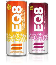 EQ8 The Dieline #packaging #beverage