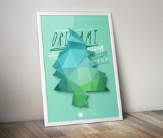 Posters by Nacho Huizar on Behance #fun #folding #poster