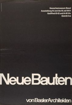 emil ruder. posters « 80