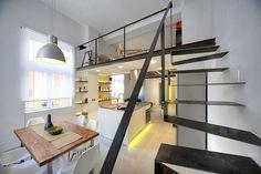Loft 78 in Roma – 40 sqm Apartment Renovated by Maurizio Constanzi