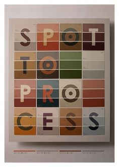 The Shop | art + design of Tom Davie — Spot To Process #tom #colors #davie #poster