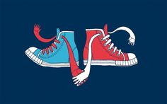 illustration 15 #cool #allan #illustration #trainers #deas