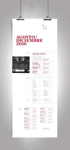 Sistema de Identidad - Museo nacional de Bellas Artes on Behance #programatic #poster #typography