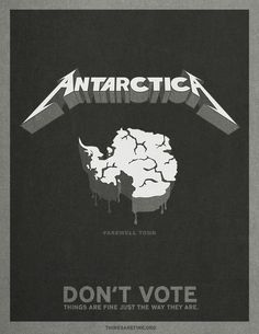 thingsarefine.org: Antarctica | Ads of the World: Creative Advertising Archive & Community #parody #antartica