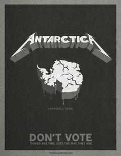 thingsarefine.org: Antarctica | Ads of the World: Creative Advertising Archive & Community #antartica #parody