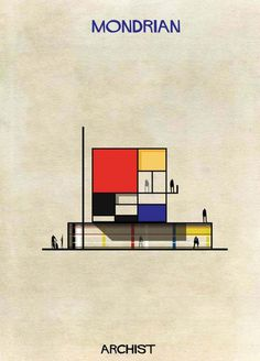 2-Federico-Babina-Archist-Series-yatzer #illustration #design #architecture