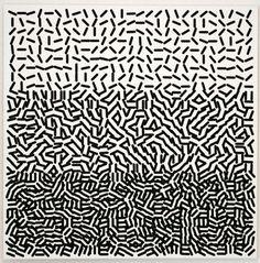 Vera Molnar #pattern