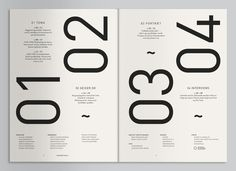 Geiger Magazine (Mads Thorsoe) #layout #design