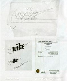 Logo - NIKE, déjà 40 ans que la virgule pose son style #roughts #years #nike #40 #logo
