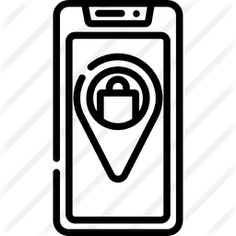 See more icon inspiration related to online payment, business and finance, commerce and shopping, online store, online shopping, pointer, package, smartphone, online shop, pin, location, mobile, technology and track on Flaticon.