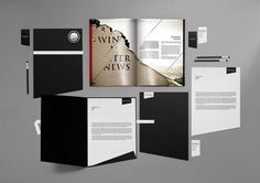 Bureau Bruneau #print #branding