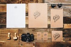 Calle Cuarta Identity #logotype #branding #wood #identity #vintage