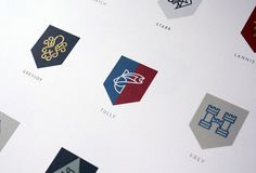 7 | A Top Nike Designer Rebrands Game Of Thrones | Co.Design: business + innovation + design #gold #logo #brand #rebrand