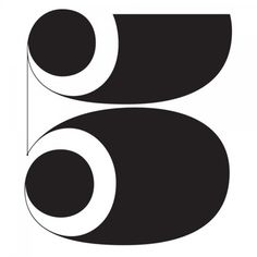 Typeverything.com - Magic Number 5 by Erik... - Typeverything #type #numeral #number