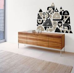 grain edit · modern graphic design inspiration blog + vintage graphics resource #interior #wood #decal