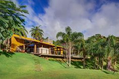 Contemporary Country House Inspiring Freedom and Serenity in Brazil