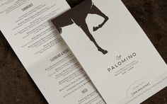 Graphic-ExchanGE - a selection of graphic projects #cafe #horse #palomino