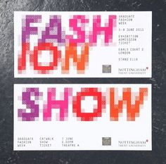 NTU GFW 2011 : Andrew Townsend / Bench.li #digital #color #typography