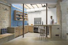 Loft in Paris: ancient craft shop transformed by Maxime Jansens #loft, #Paris
