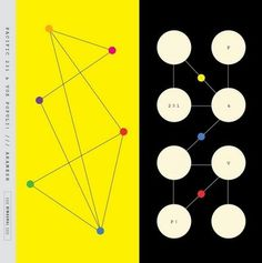 FFFFOUND! #retro #yellow #lines #dots #circles #path #connections