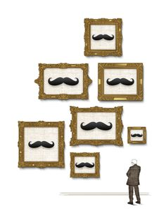 T-shirt designs for ArtZula. // www.artzula.com // www.furkansener.com #frame #admiration #variety #picture #illustration #paintings #selection #moustache