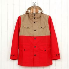 Universal Works Fell Jacket (Red) from Oi Polloi #jacket