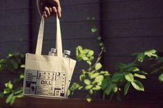 Dill Fresh Pressed Juice | Fullfill #tote #branding #packaging #icon #juice #bag