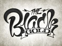 Random Typography | Coffee made me do it #gold #black #typography