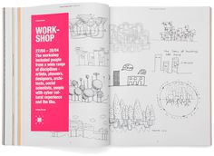 Livable Cities - Philips Design Probes #layout #graphic design #pink #design #workshop