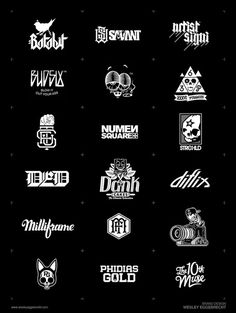 wesley eggebrecht logo compilation #logo #design #branding #typography