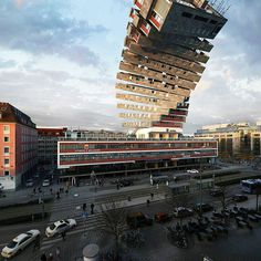 Buamai Nhdk 2 | VÍctor Enrich Photography #building #distortion #3d #twist