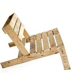 DIY: Studiomama Pallet Chair : Remodelista #chair #furniture #grain