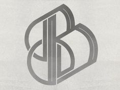 Dribbble - Typographic Experiment - B by Queen City Studio #identity #experiment #typography
